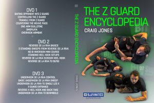 Craig Jones DVD Z Guard Encyclopedia