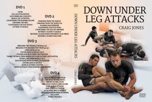 Craig Jones DVD Down Under Leg Attacks