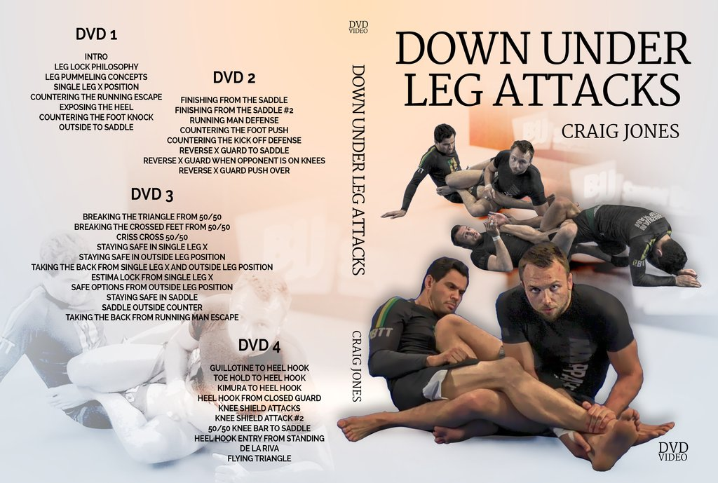 Craig Jones Down Under Leg Attacks