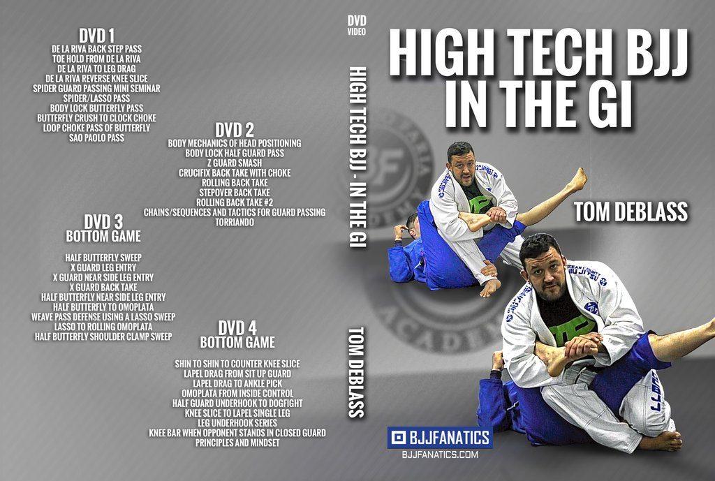 Tom DeBlass best BJJ DVD 2018 High tech BJJ IN The Gi