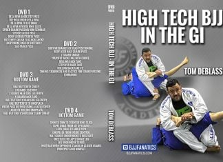 Tom DeBlass DVD High Tech BJJ In The Gi