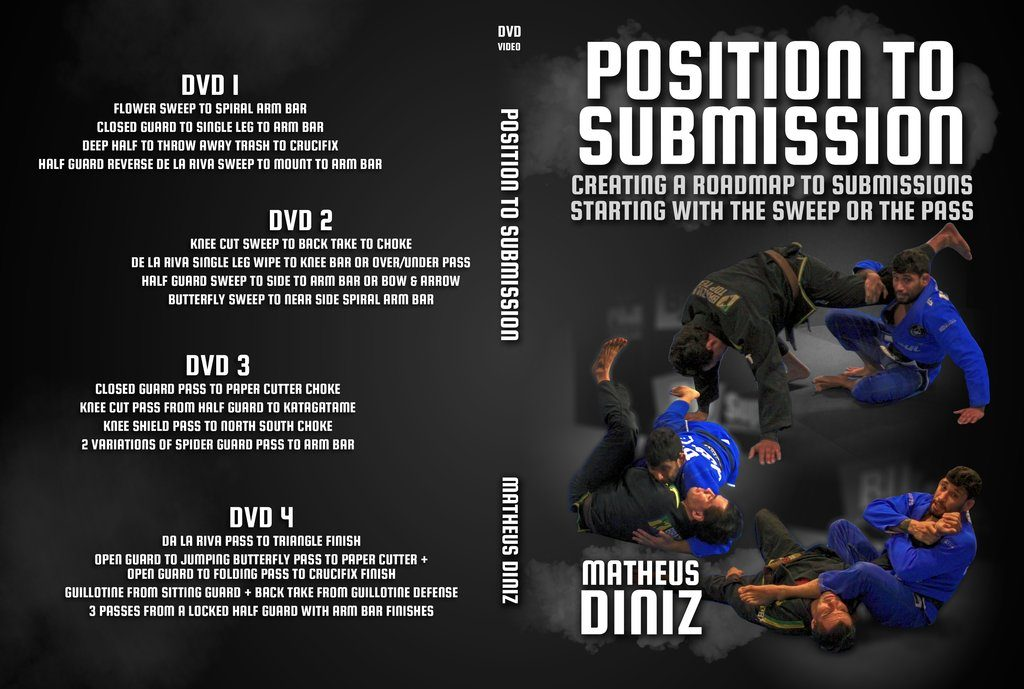 Position to submission - Matheus Diniz Best BJJ DVD 2019