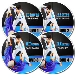 Passing Back Takes & Finsihes JT Torres BJJ DVD
