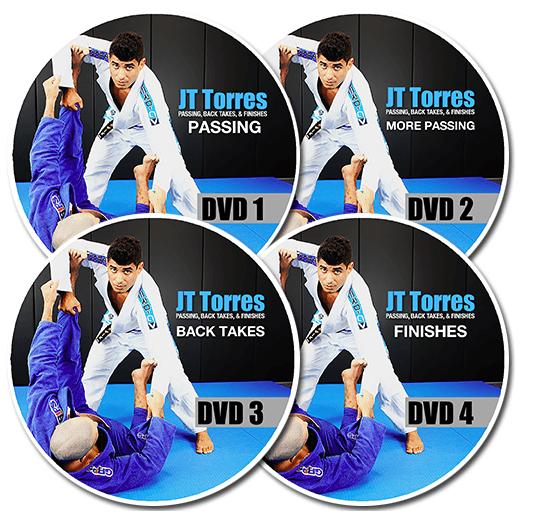 Passing Back Takes & Finsihes JT Torres BJJ DVD