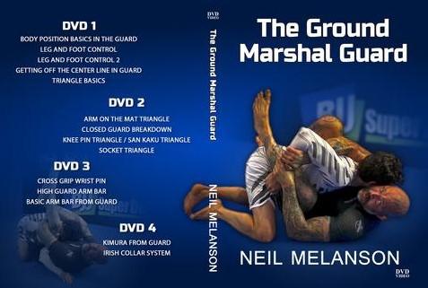 Ground Marshal Guard Melanson BJJ DVD