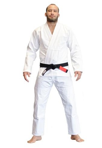 Plain White BJJ GI - $77 - 10% Discount Checkout code: FANOM10