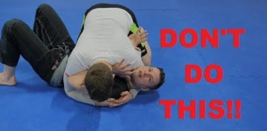 Side Control Escape - The Biggest Mistake That Everyone Do