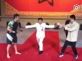 MMA Fighter vs Wing Chun Master Who Goes all Out on Poor MMA Guy