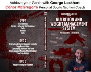McGregor's Personal Nutrition Coach George Lockhart