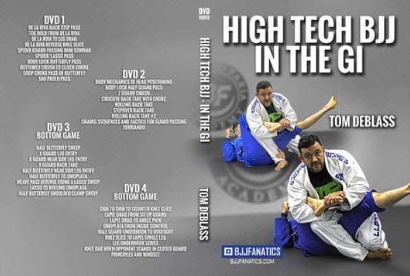 New DVD by Tom DeBlass - High Tech BJJ