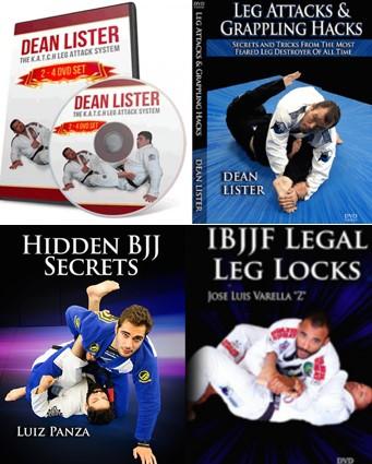LEG LOCK BUNDLE BY DEAN LISTER, LUIZ PANZA & JOSE BARCA (13 DVD SE