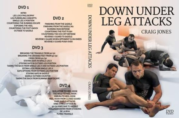 Down Under Leg Attacks by Craig Jones