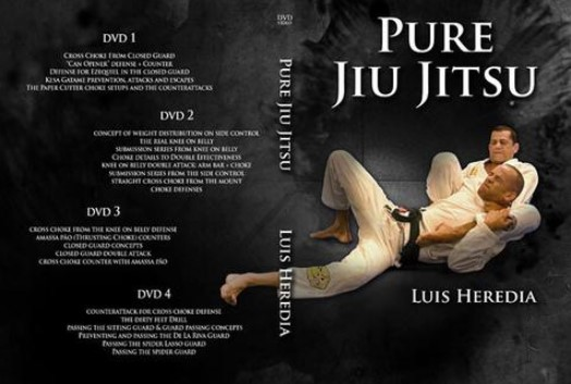 Pure Jiu-Jitsu by Luis Heredia