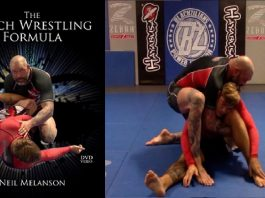 Neil Melanson DVD Catch Wrestling Formula