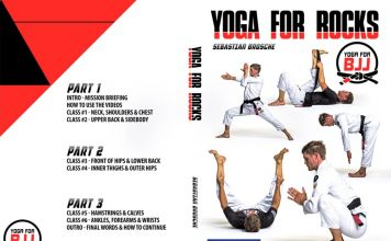 Yoga For BJJ Sebastian Brosche ANd the latest Yoga For Rocks DVD