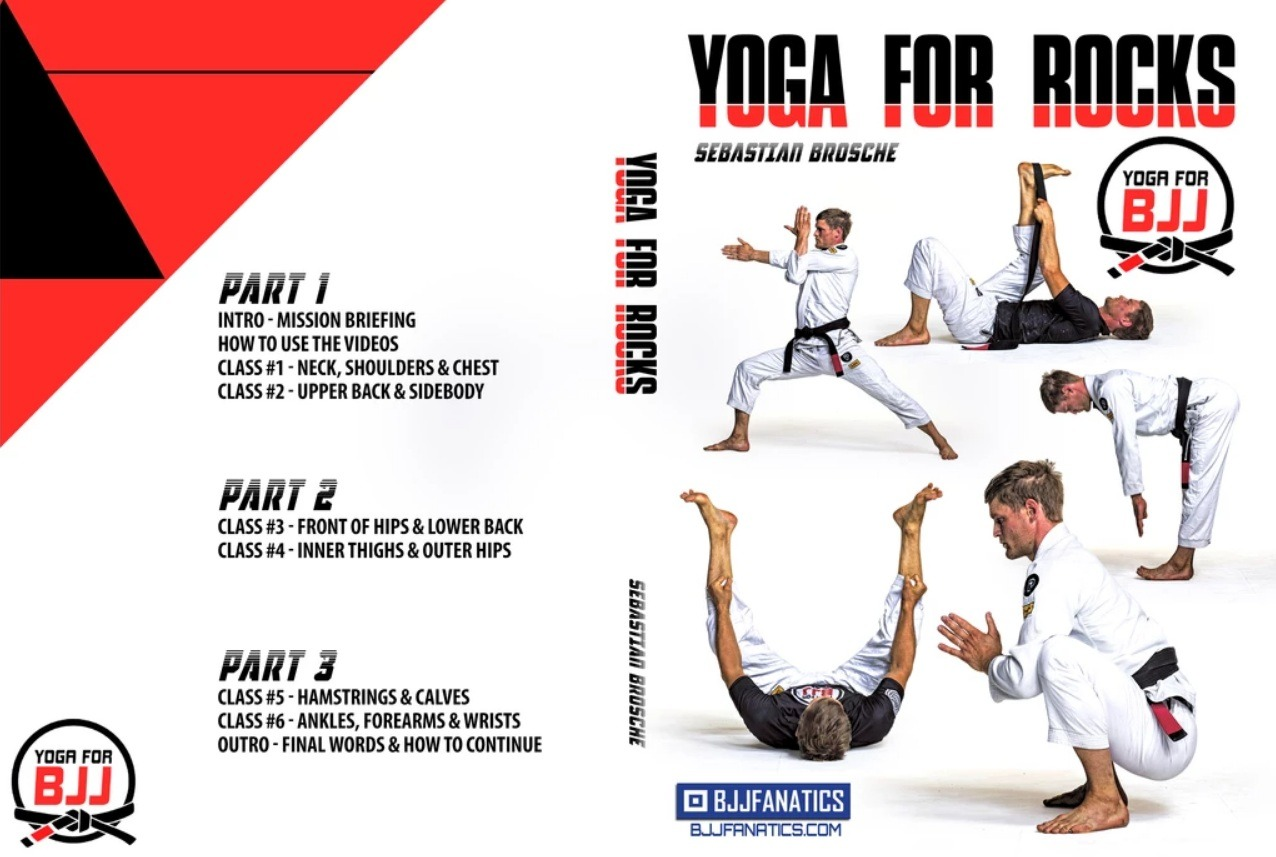 Yoga Poses For Jiu Jitsu