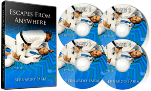 Bernardo Faria DVD Escapes From Everywhere