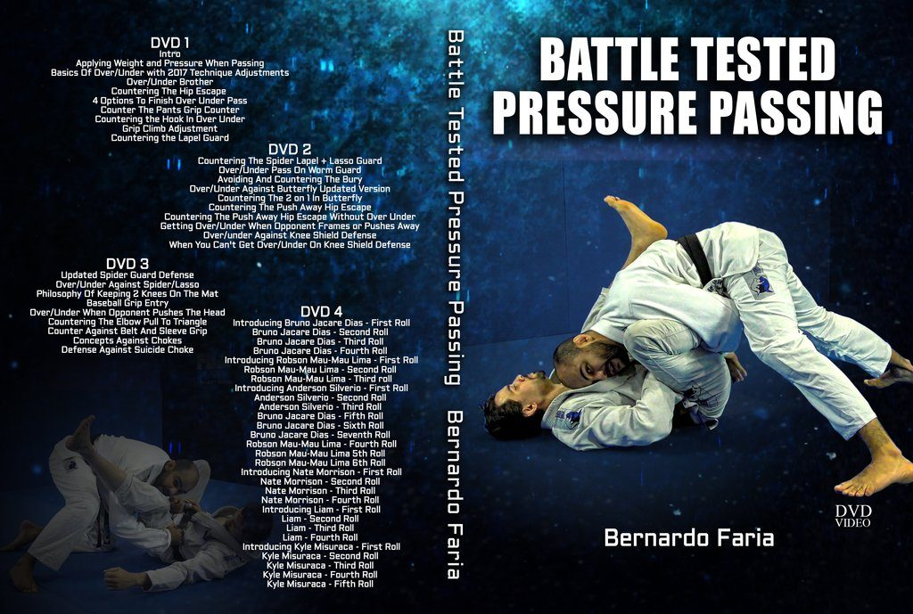 Faria best BJJ DVD 2018 Battle Tested Pressure Passing