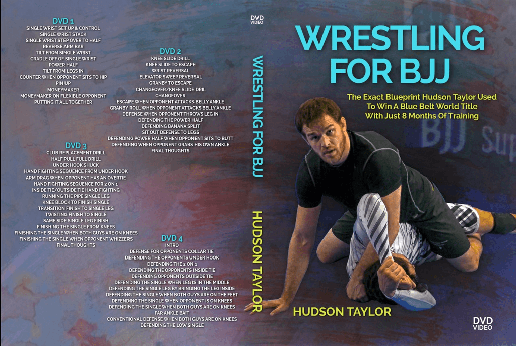 Wrestling for BJJ DVD Hudson Taylor
