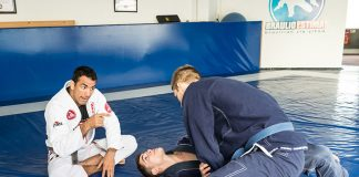 BJJ Instructors teaching