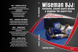Rodrigo Cavaca Wiseman BJJ DVD Instructional