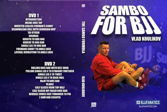 Vladislav Koulikov DVD Sambo For BJJ