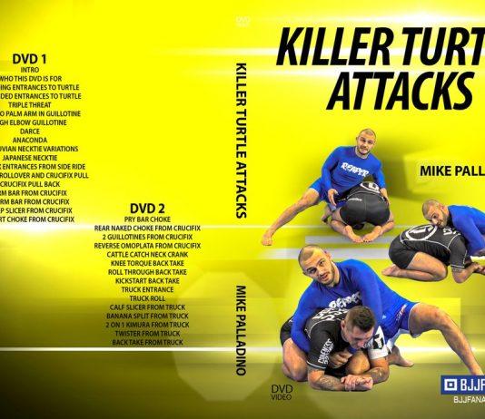 Killer Turtle Attacks Mike Palladino DVD