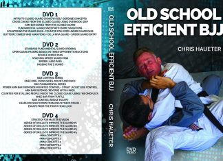 Old SChool Efficient BJJ Chris Haueter DVD