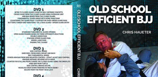 Old School Efficient BJJ Chris Haueter DVD
