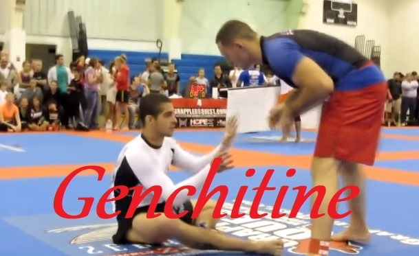 Blue Belt Submits Black Belt with His Guillotine Choke -