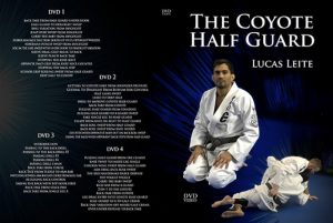 The coyote half guard dvd instructional by lucas leite and the most powerful half guard sweep