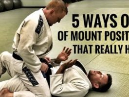 5 Mount Escapes for BJJ That You Have to Know