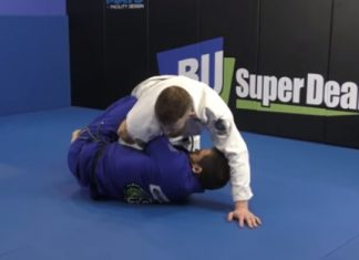 Armdrag to back take by Jake MacKenzie