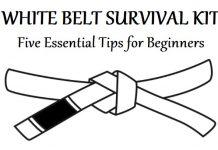 BJJ White Belt Survival Kit: 5 Essential Tips For Beginners