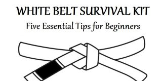 BJJ White Belt Survival Kit: 5 Essential Tips For Beginners