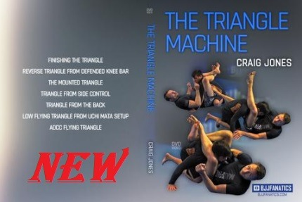 Craig Jones - The Triangle Machine New DVD instructional from craig Jones