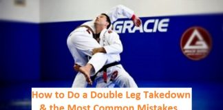 How to do Double Leg Takedown and the most common mistakes
