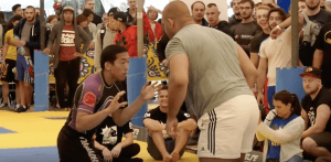 Competing With Bigger Opponents In BJJ