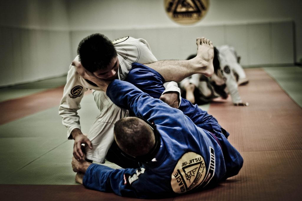 Higher Jiu-Jitsu belts sparring