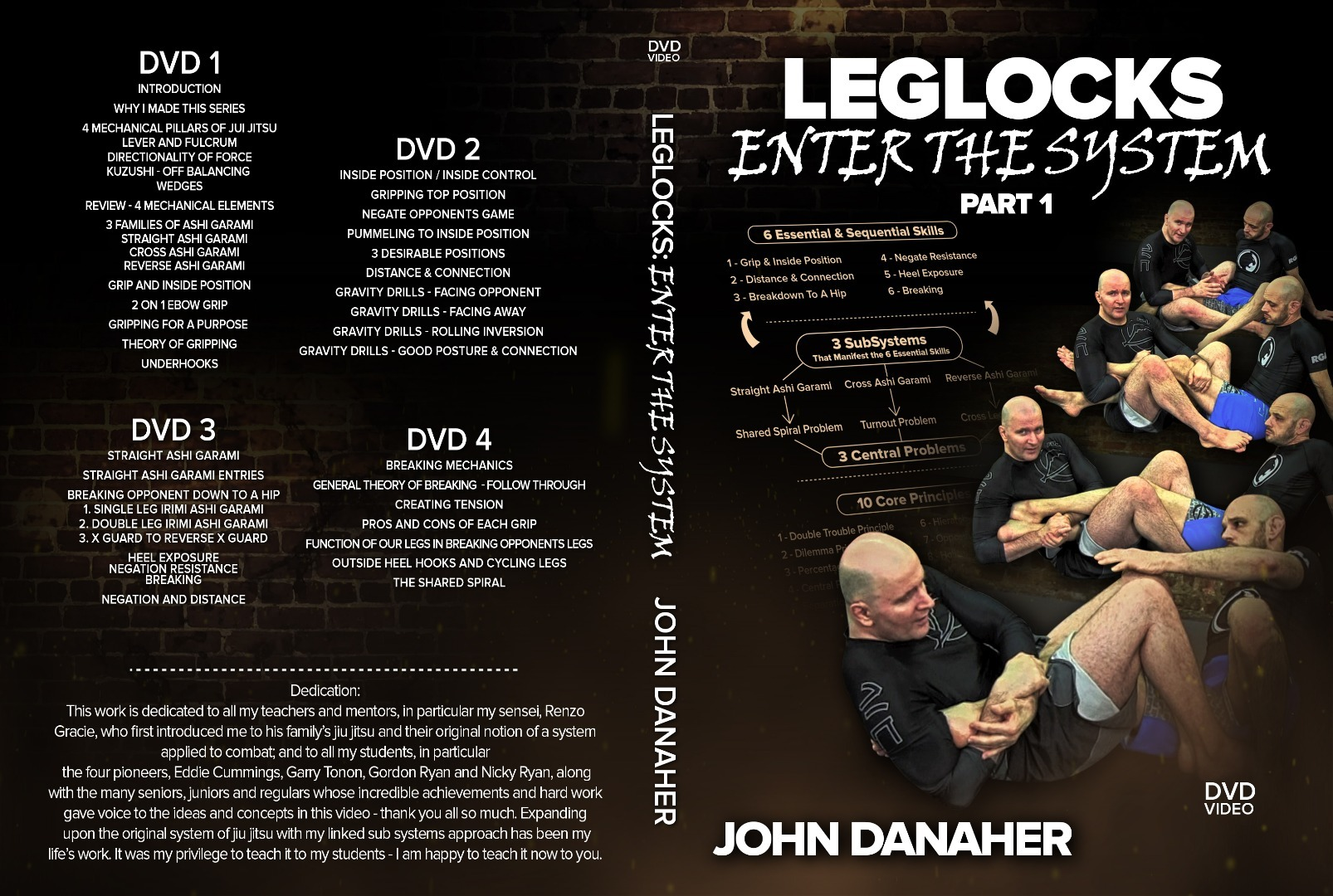 John Danaher DVD Instructional REVIEW - Leglocks: Enter The