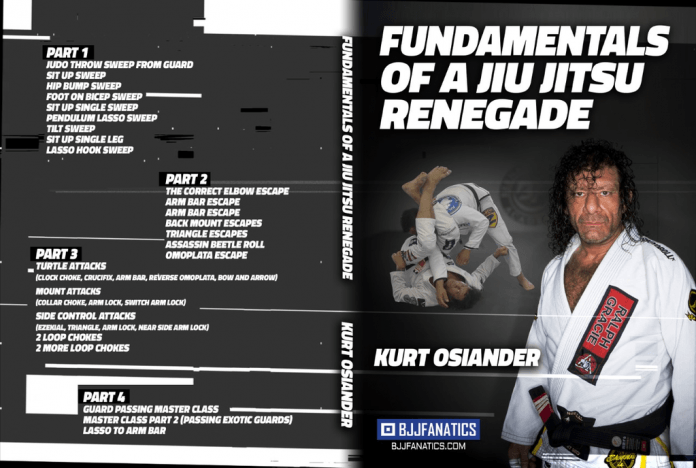 Kurt Osiander DVD Fundamentals of a Jiu-Jitsu Renegade