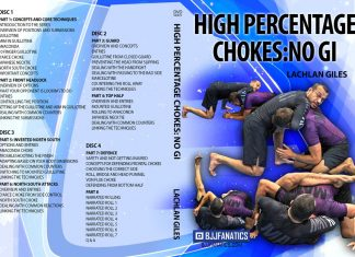 Lachlan Giles High Percentage Chokes No Gi