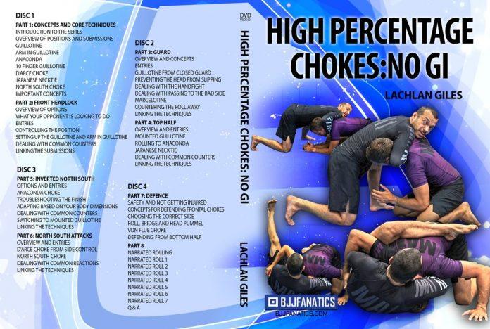 Lachlan Giles High Percentage Chokes No Gi