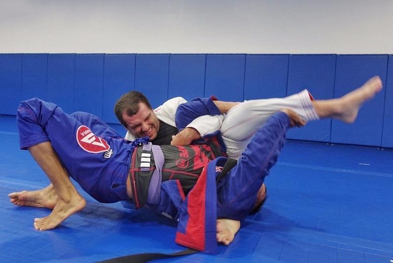 Rolling With Higher Jiu-Jitsu belts
