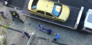 Devastating Heel Hook In a Street Fight