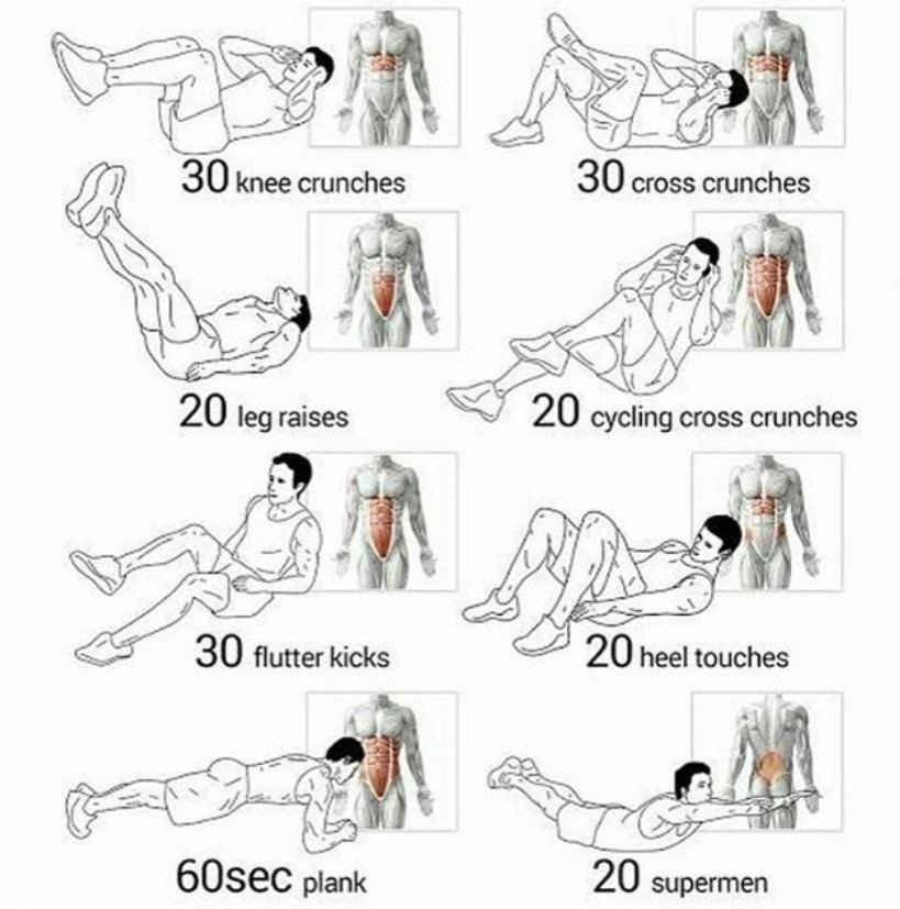 BJJ Core Workout Program