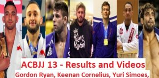 ACBJJ 13 Results and full Fight Videos