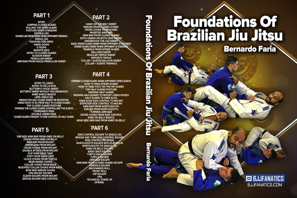 Bernardo Faria DVD Foundations Of Brazilian Jiu Jitsu