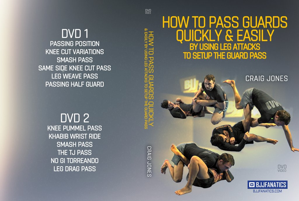 New Craig Jones DVD: How To Pass Guards Quickly And Easily