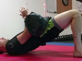 Sandbag conditioning for BJJ